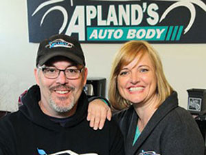 Aplan's auto body owners